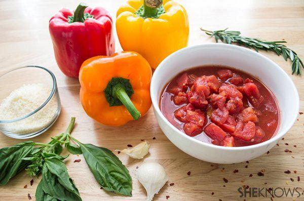 Skinny Italian Sausage and Peppers