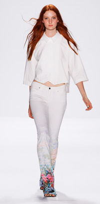 Rebecca Minkoff's SS13 runway show