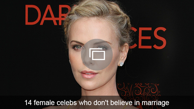 celebs dont believe marriage slideshow