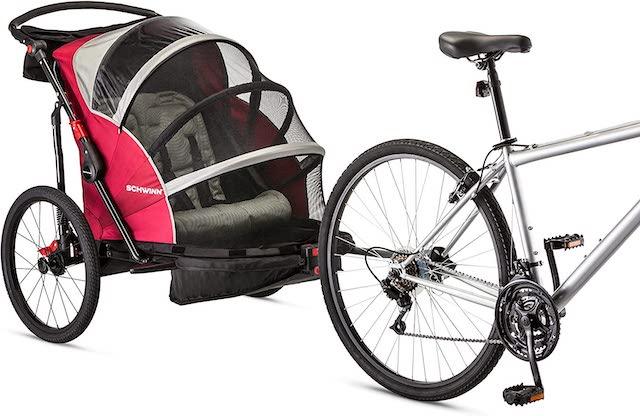 Schwinn Joyrider best baby bike trailer Amazon