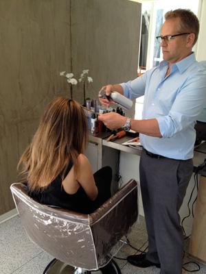 Step 2: Prep your hair   Sheknows.ca