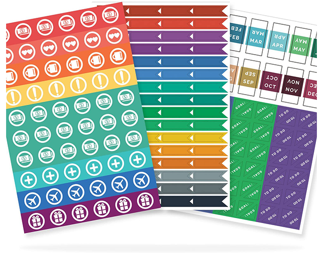 Simple Elephant Best Productivity Planner Stickers on Amazon