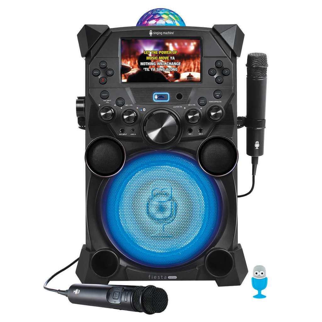 Singing Machine Fiesta Voice Portable Karaoke System