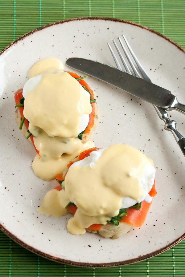 Irish eggs Benedict