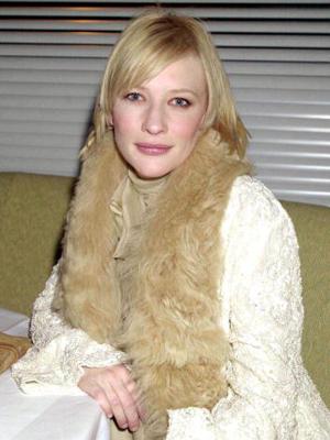 Cate Blanchett in 2001