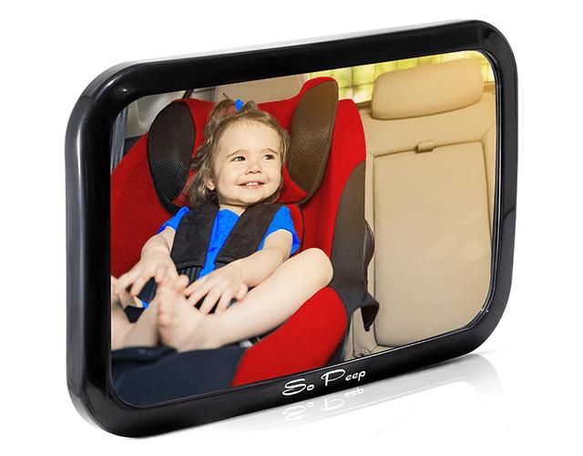 So Peep Best Baby Backseat Mirror