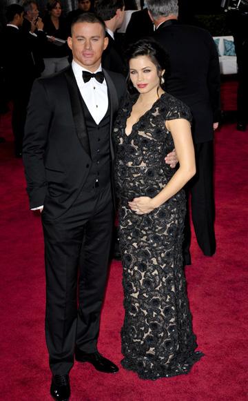 Jenna Dewan-Tatum during the 2013 Oscars