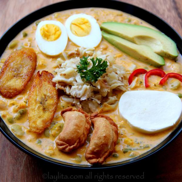 Ecuadorian stew (fanesca Ecuatoriana)