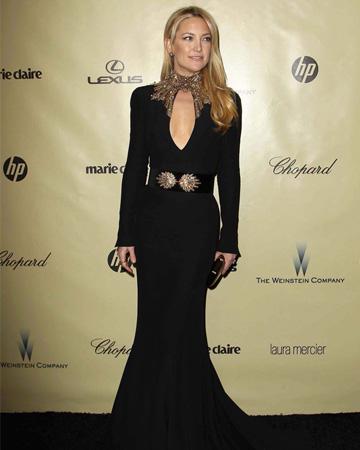 Kate Hudson at the 203 Golden Globe awards