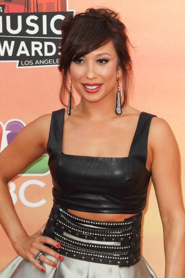 Cheryl Burke at the 2014 iHeartRadio Music Awards