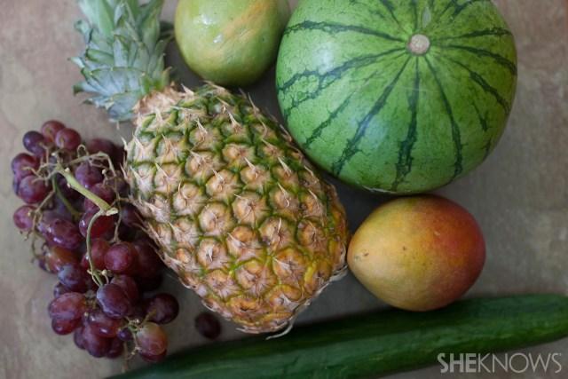 Tropical fruit bouquet