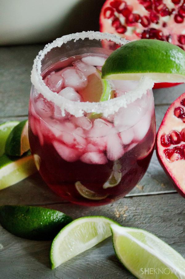 Pomegranate passion fruit margarita recipe