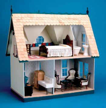 Build you own doll house - this kit is an awesome gift idea for a Little House on the Prairie fan.