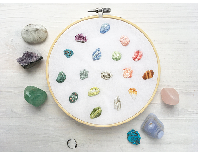 Tiny Crystals Embroidery Best Crafts on Etsy