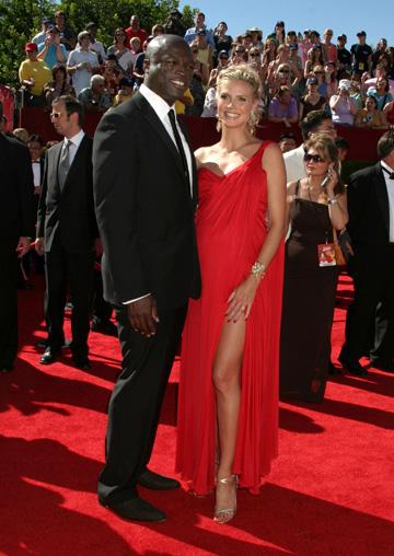 Heidi Klum during the 2006 Emmy Awards