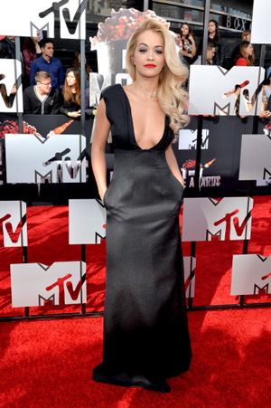 Rita Ora at the 2014 MTV Movie Awards