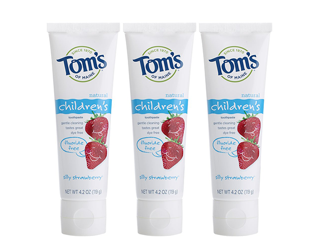 Tom's Best Toothpaste for Babies on Amazon