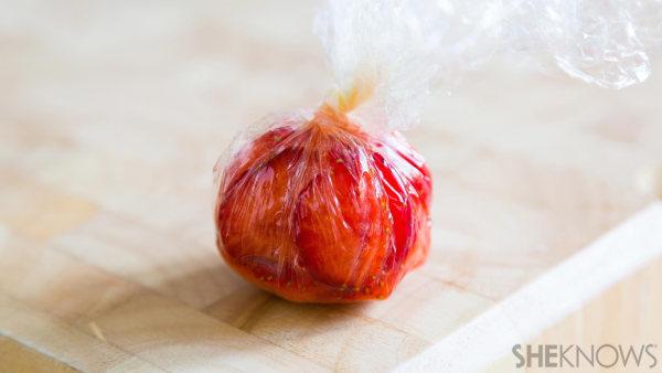 Fruit sushi dessert