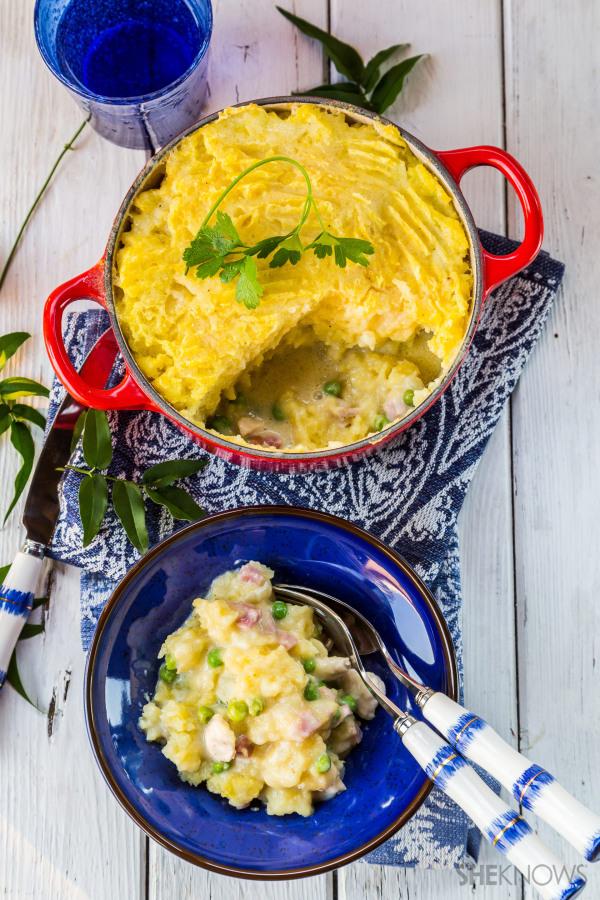 Chicken, bacon and potato casserole recipe