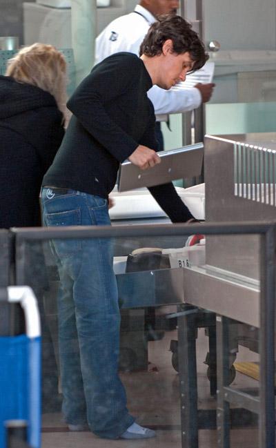 at the airport - John Mayer