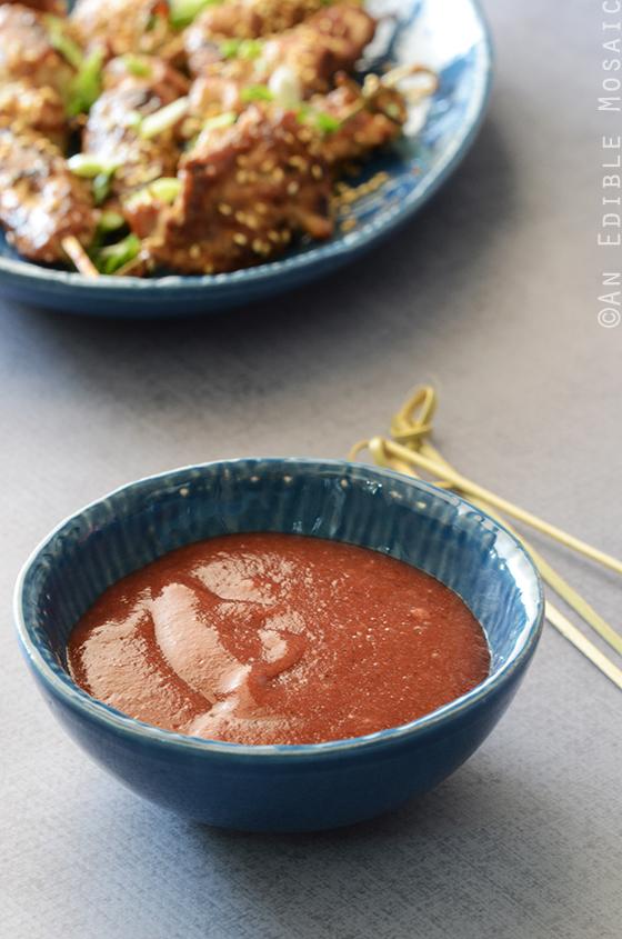 Chinese-inspired plum sauce