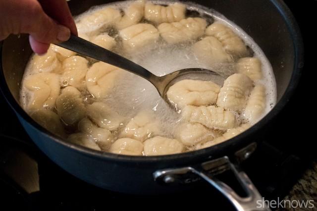goat cheese gnocchi