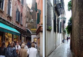 Venice walkways