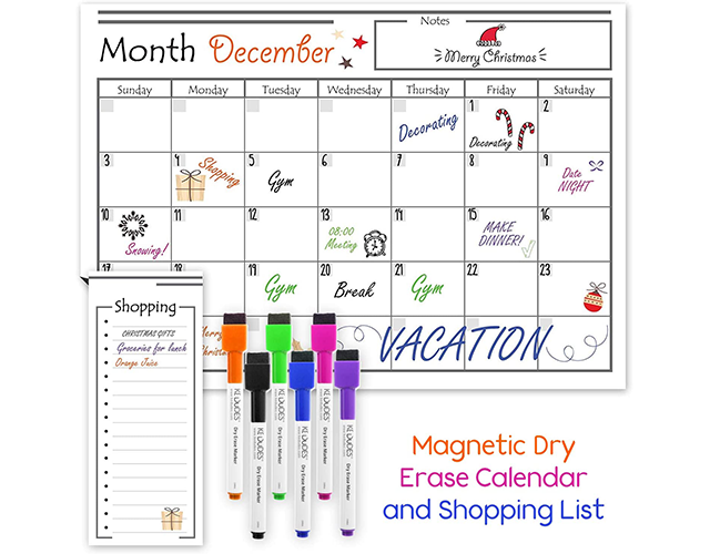 USA Made Best Magnetic Dry Erase Calendar Amazon