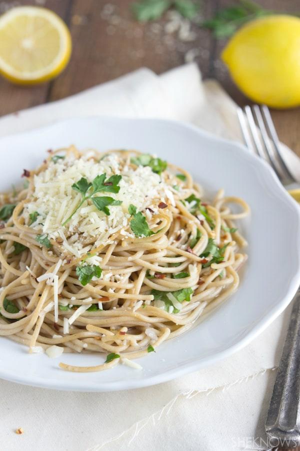 pasta aglio