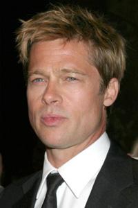 Brad Pitt -- Clean cut