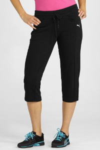 Fitted Terry Capris (Puma, $35)