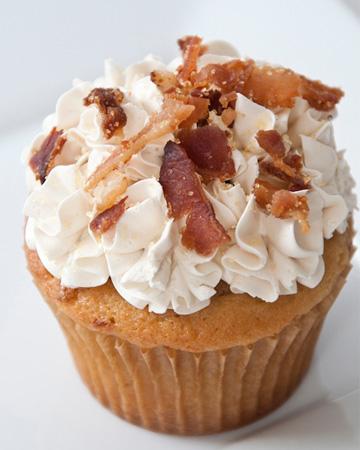 Pancake n' Bacon cupcake