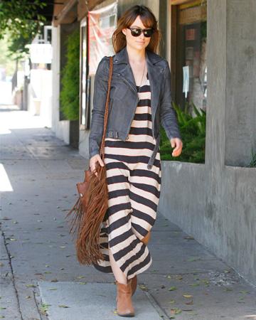 Olivia Wilde wearing