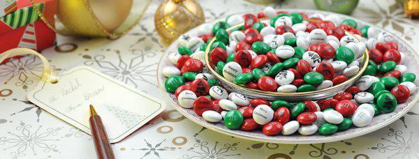 Christmas M&Ms