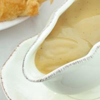Brown flour gravy
