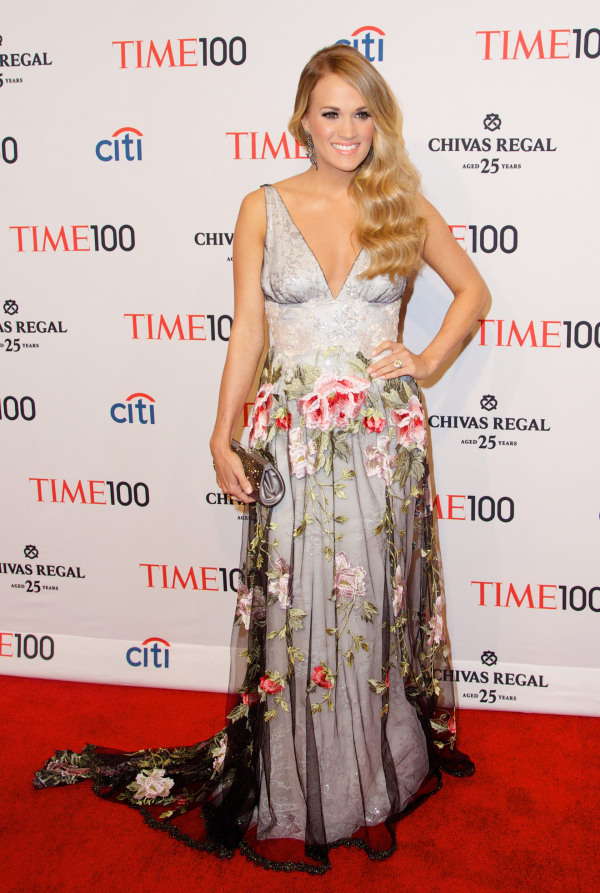 Carrie Underwood at the Time 100 Most Influential gala