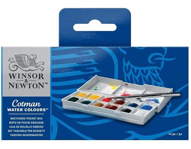 Winsor & Newton Best Watercolor Paint Set on Amazon