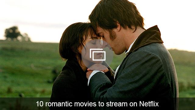 romantic movies netflix slideshow