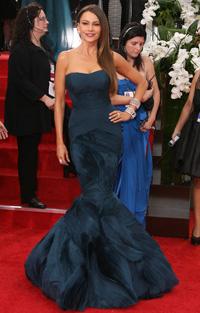 Sofia Vergara at 2012 Golden Globes