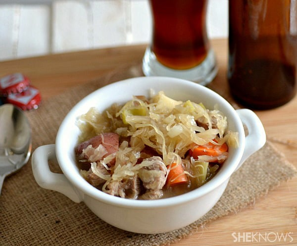 Oktoberfest stew recipe