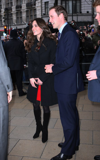 Kate Middleton and Prince William prepare for their royal spring wedding