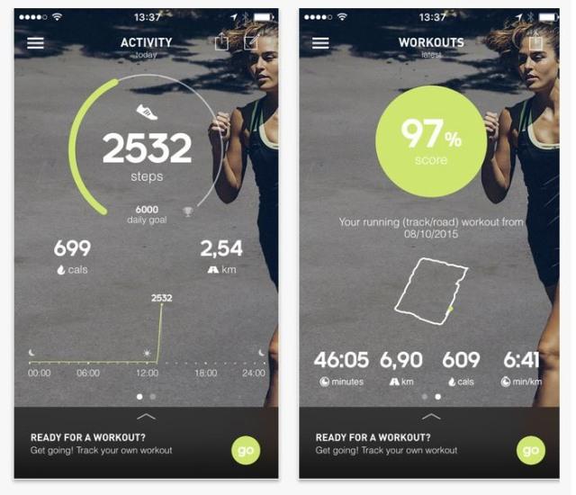 Adidas running app