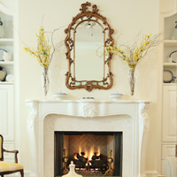 Fall living spaces decor