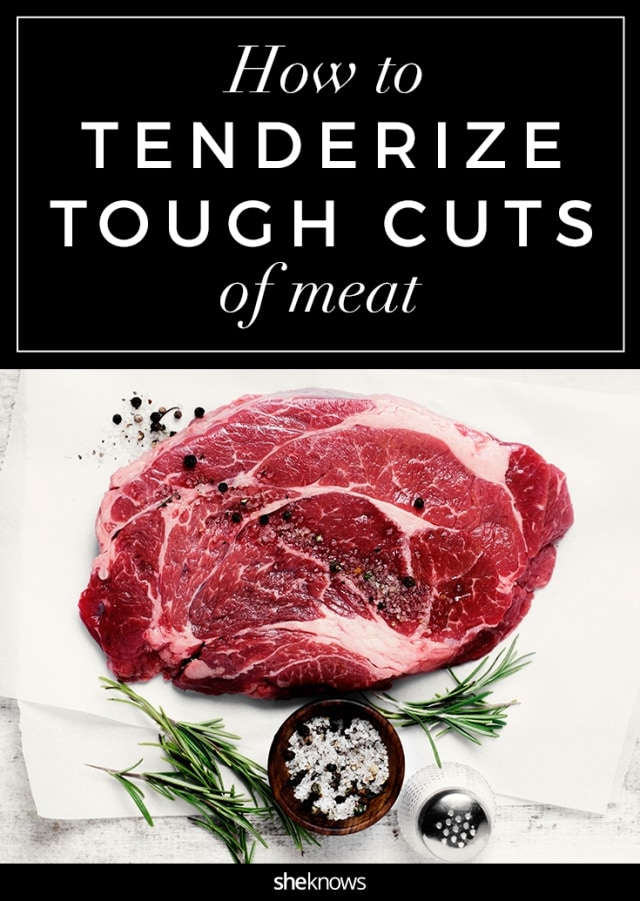 how to tenderize tough cuts of meat