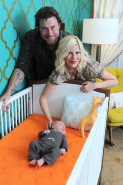 Tori Spelling - Finn's nursery