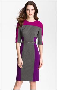 My pick:Maggie London Colorblock Dress, $128, Nordstrom