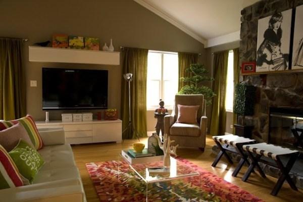 Living room by mixandchic.com