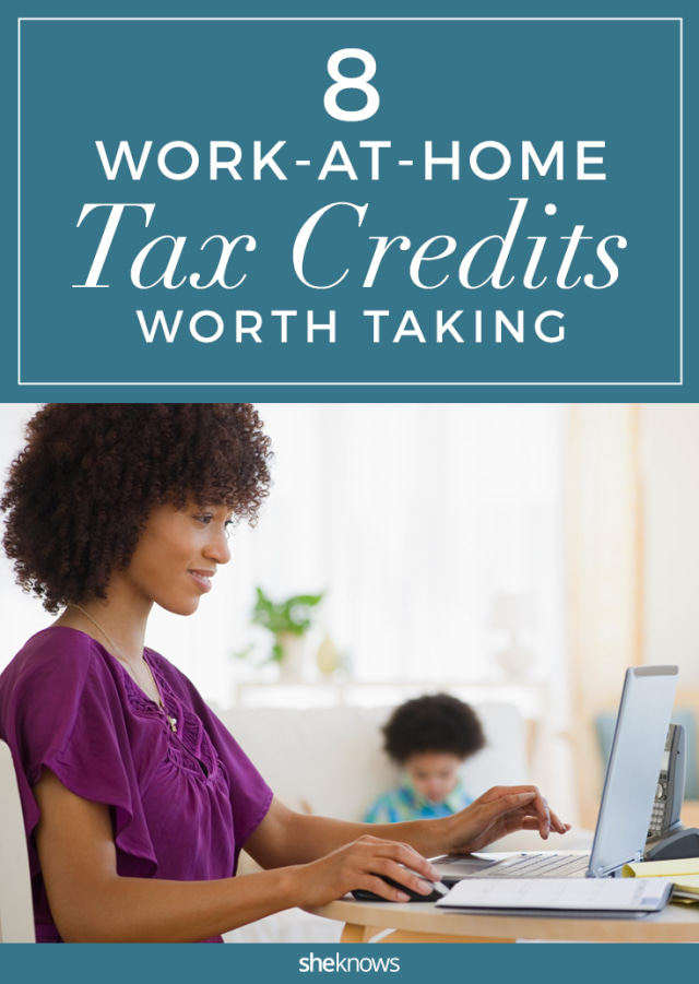 Work-at-home mom tax credits