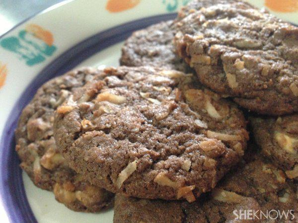 Chewy Chocolate Coconut Cookie Recipe