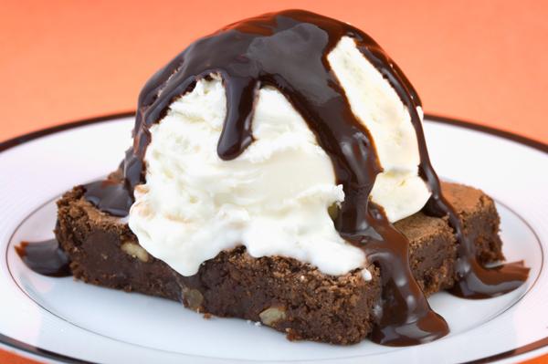 Brownie with Esspresso Fudge